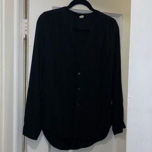 Old navy black long sleeve top